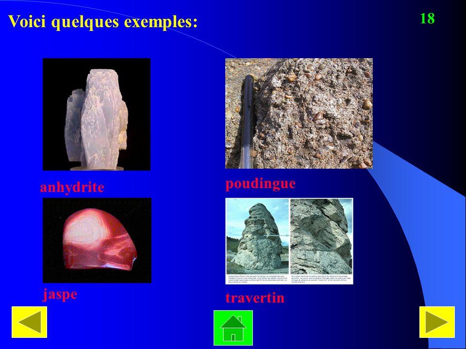 Voici quelques exemples: