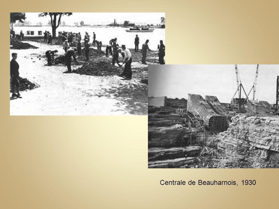 Centrale de Beauharnois, 1930