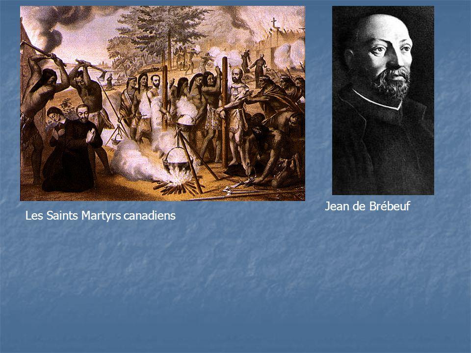 Jean de Brébeuf Les Saints Martyrs canadiens