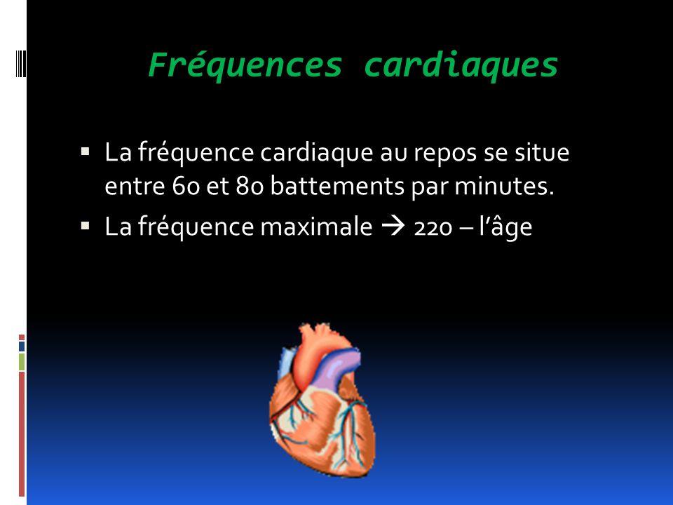 Fréquences cardiaques