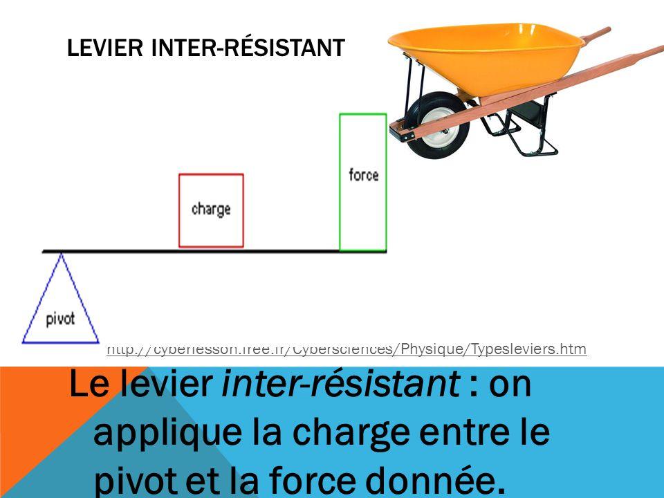 Levier inter-résistant