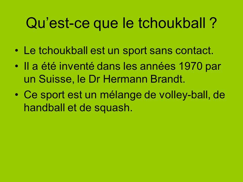 Qu'est-ce que le tchoukball