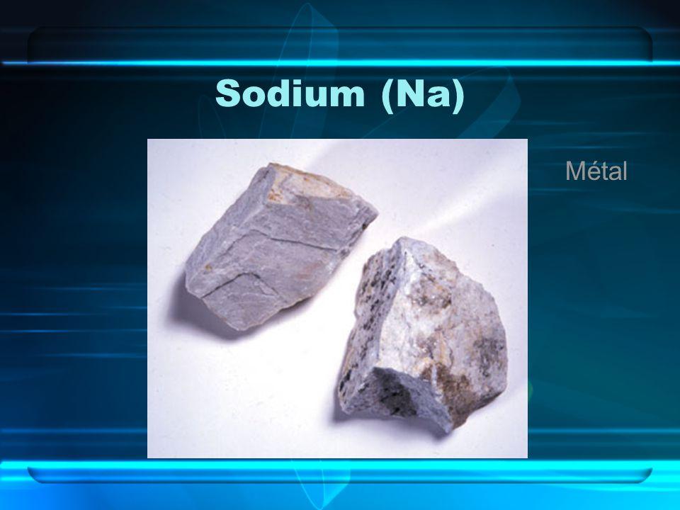 Sodium (Na) Métal