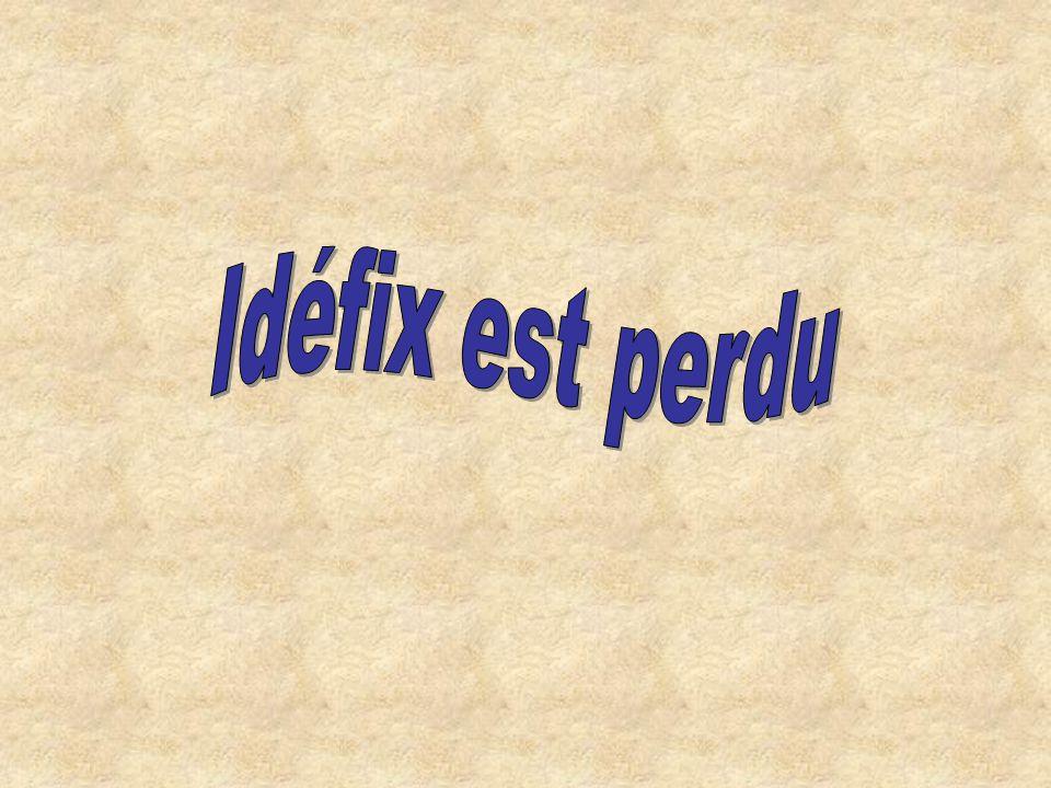 Idéfix est perdu