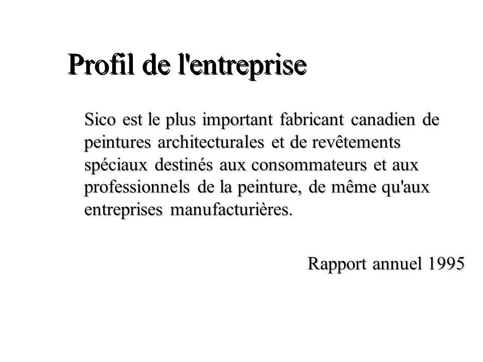 Profil de l entreprise