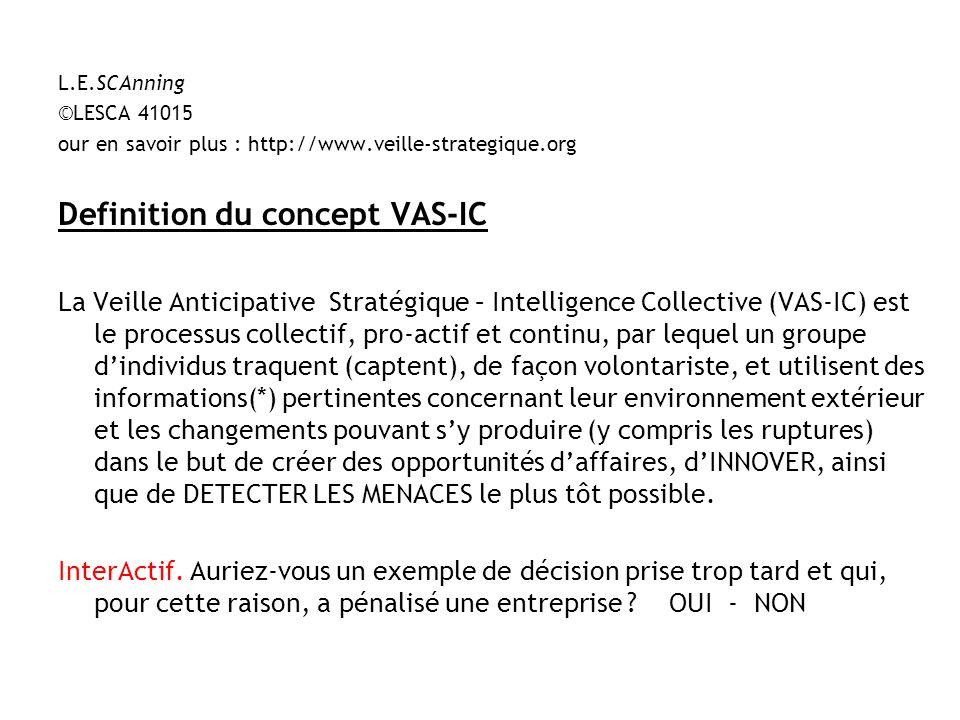 Definition du concept VAS-IC