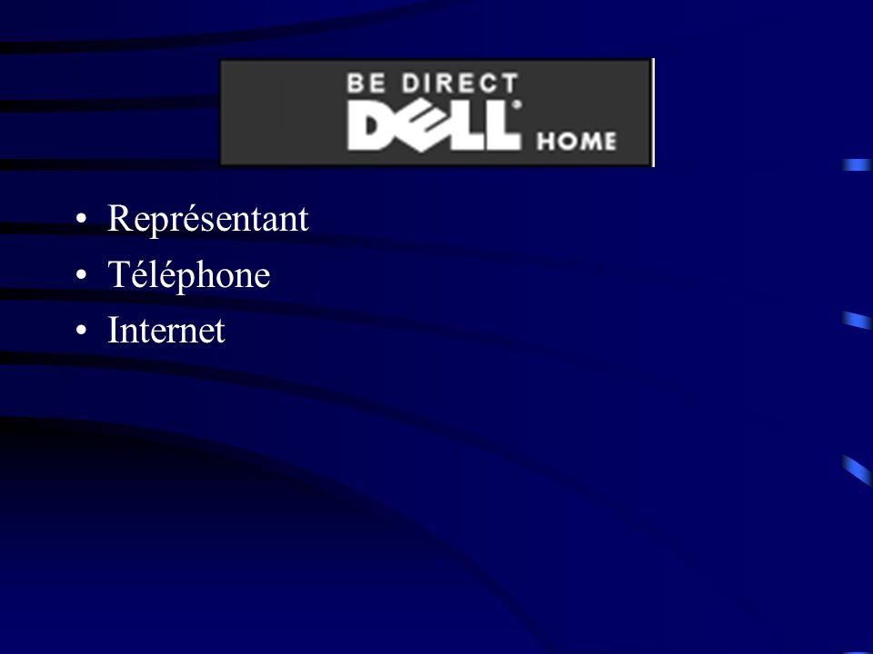 Représentant Téléphone Internet