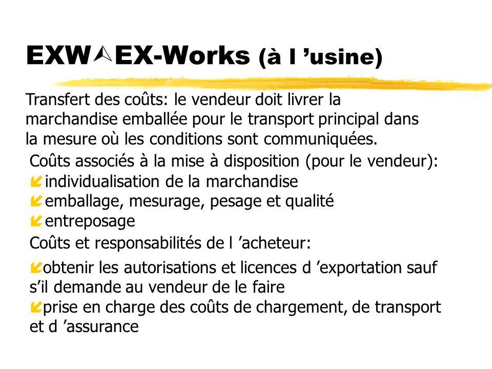 EXWEX-Works (à l 'usine)