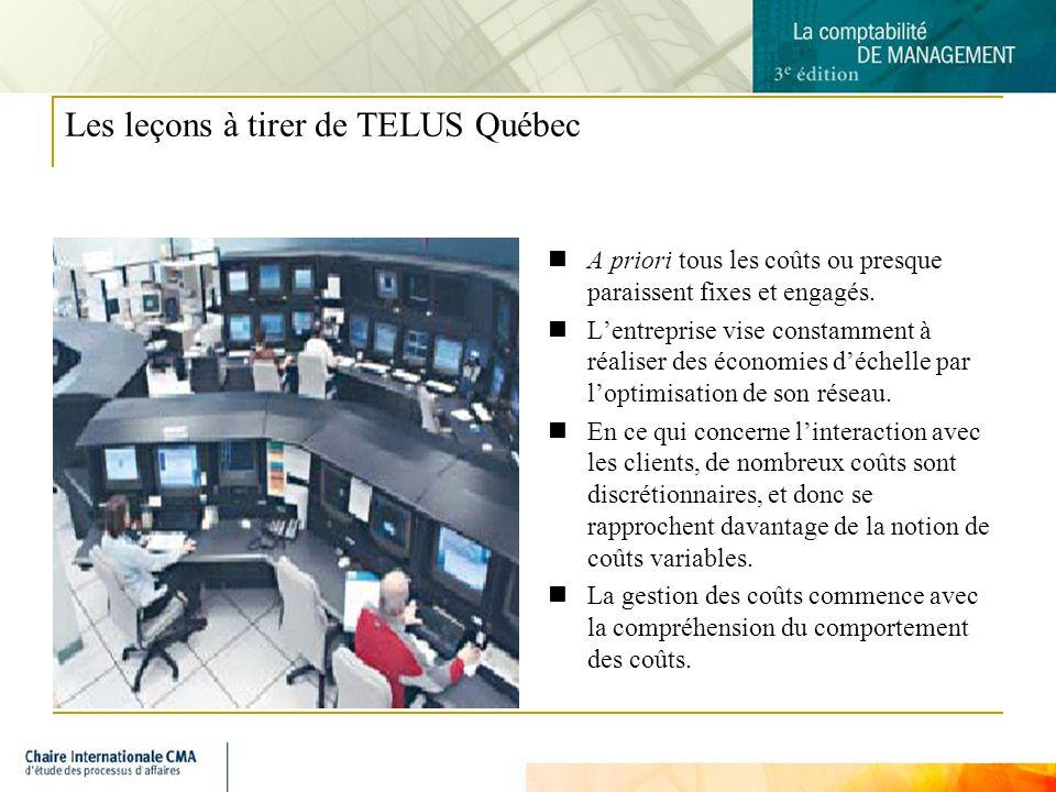Les leçons à tirer de TELUS Québec