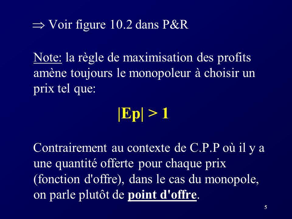 |Ep| > 1  Voir figure 10.2 dans P&R