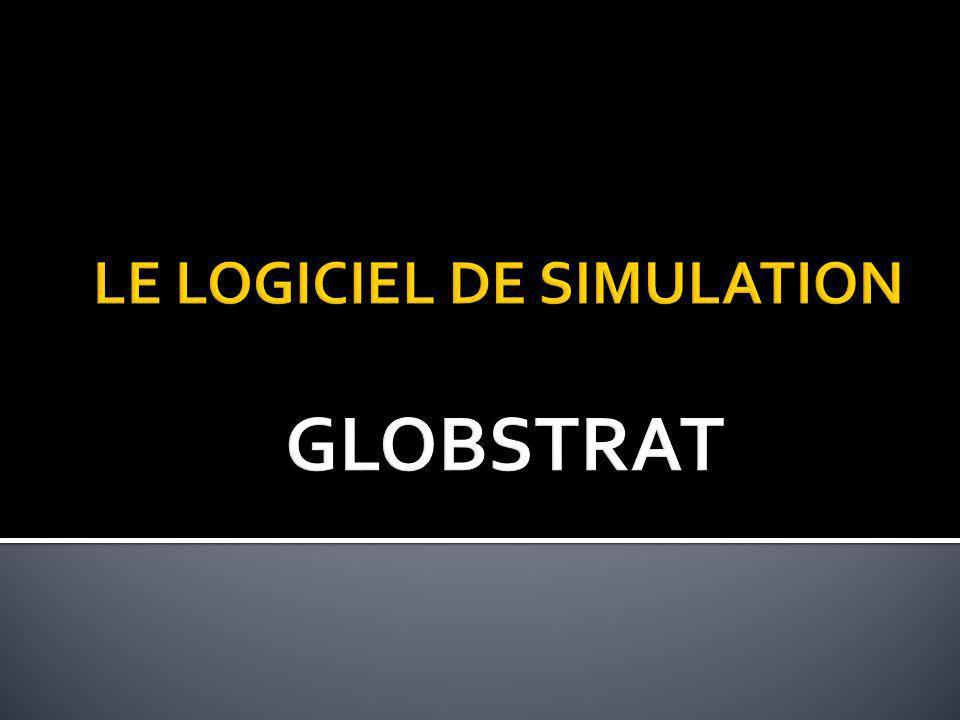 LE LOGICIEL DE SIMULATION GLOBSTRAT
