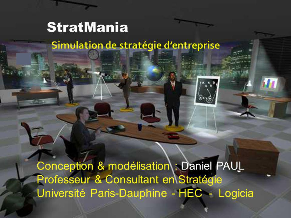 StratMania Simulation de stratégie d'entreprise