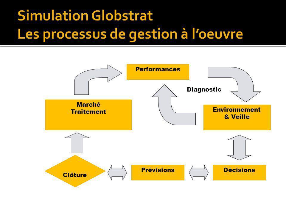 Simulation Globstrat Les processus de gestion à l'oeuvre