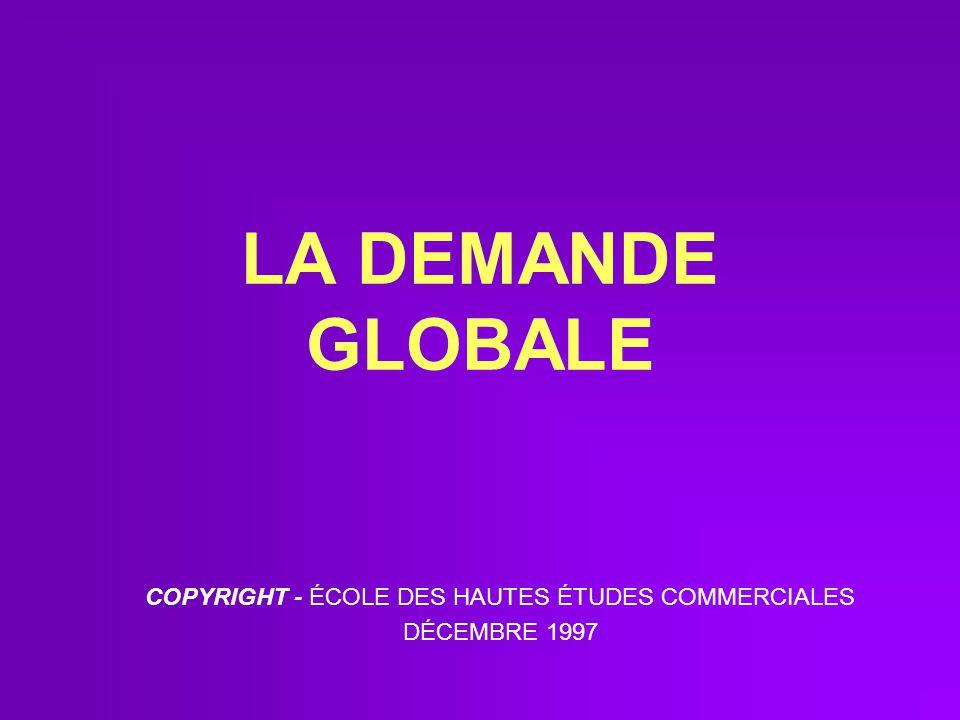 COPYRIGHT - ÉCOLE DES HAUTES ÉTUDES COMMERCIALES DÉCEMBRE 1997