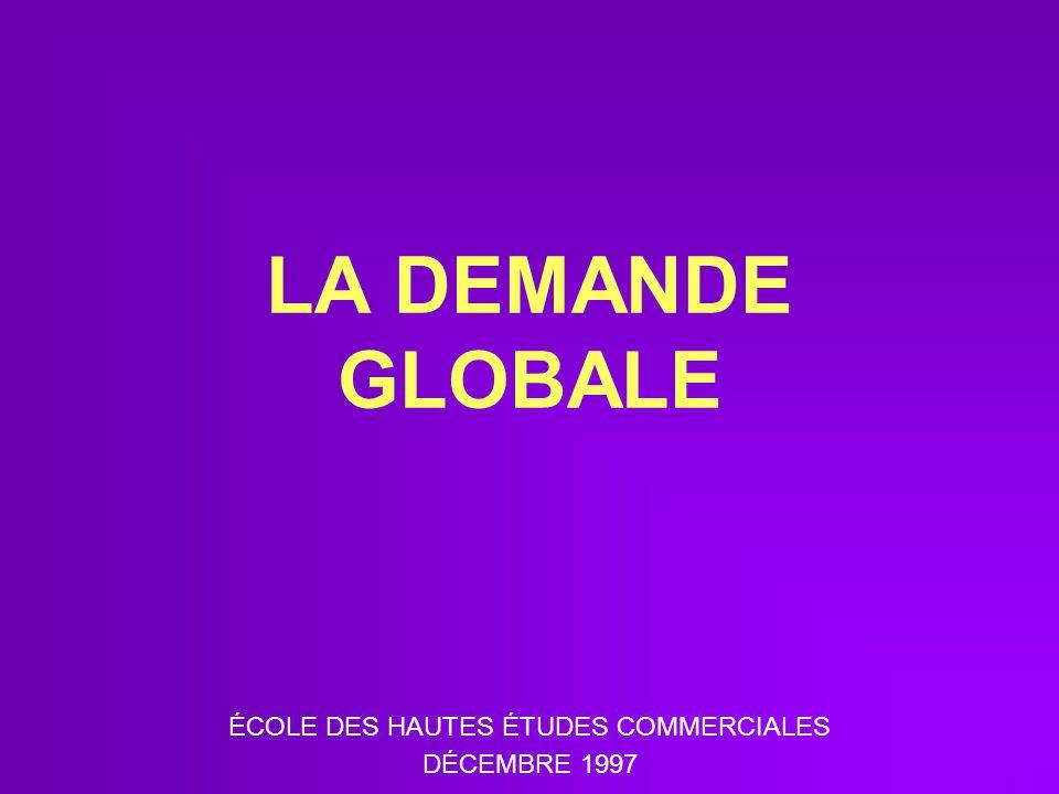 ÉCOLE DES HAUTES ÉTUDES COMMERCIALES DÉCEMBRE 1997