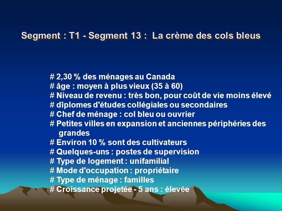 Segment : T1 - Segment 13 : La crème des cols bleus