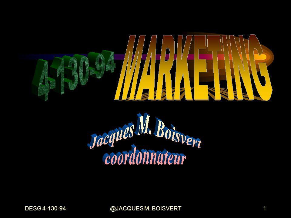 DESG 4-130-94 @JACQUES M. BOISVERT