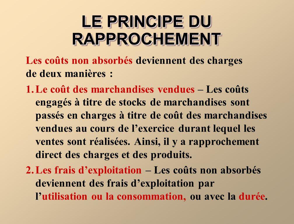 LE PRINCIPE DU RAPPROCHEMENT