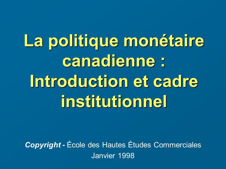 Copyright - École des Hautes Études Commerciales Janvier 1998