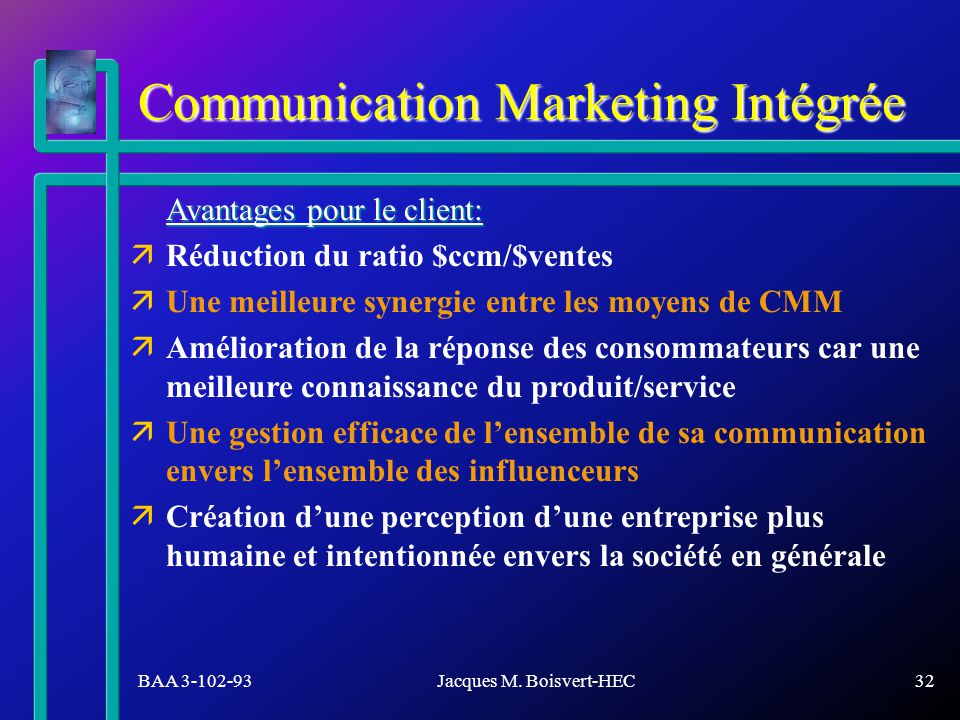 Communication Marketing Intégrée