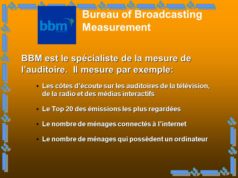 Bureau of Broadcasting Measurement