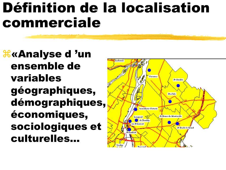 Définition de la localisation commerciale