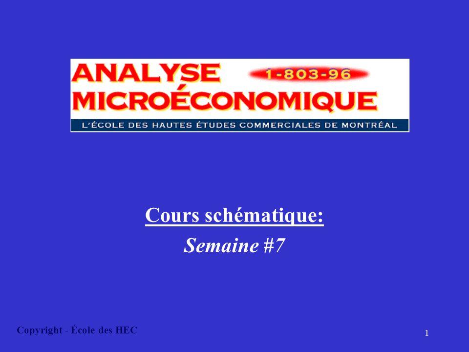 Cours schématique: Semaine #7