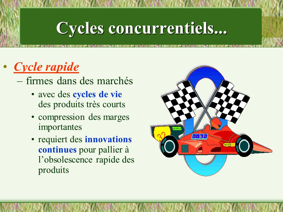 Cycles concurrentiels...