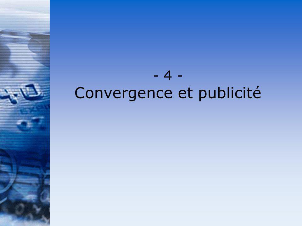 Convergence et publicité