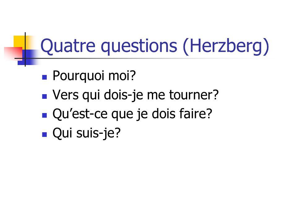 Quatre questions (Herzberg)