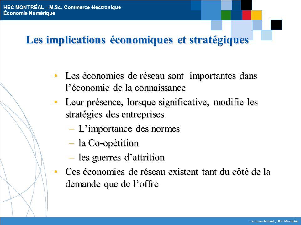 Les implications économiques et stratégiques