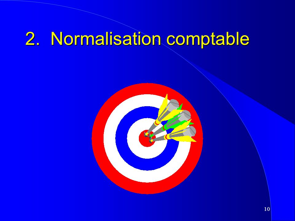 2. Normalisation comptable
