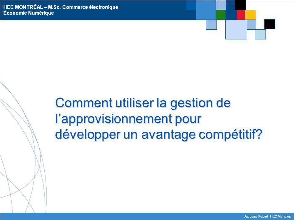 Comment utiliser la gestion de l'approvisionnement pour développer un avantage compétitif