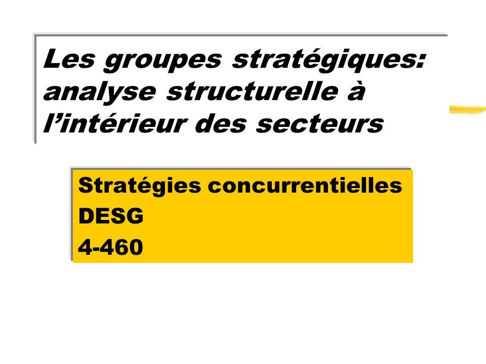 Stratégies concurrentielles DESG 4-460