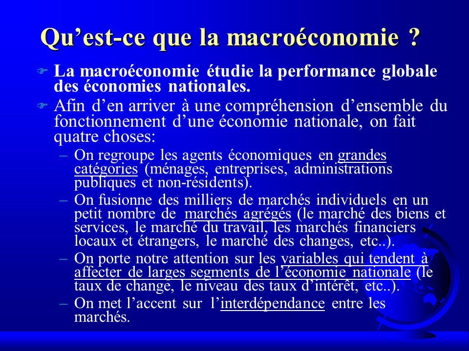 Qu'est-ce que la macroéconomie