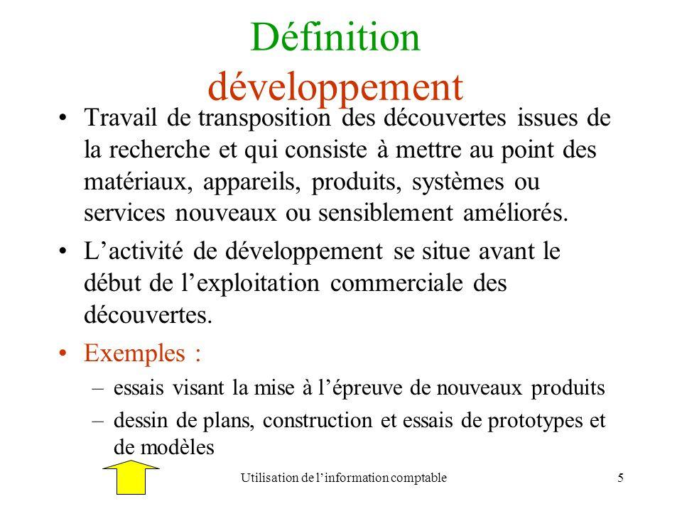 Définition développement