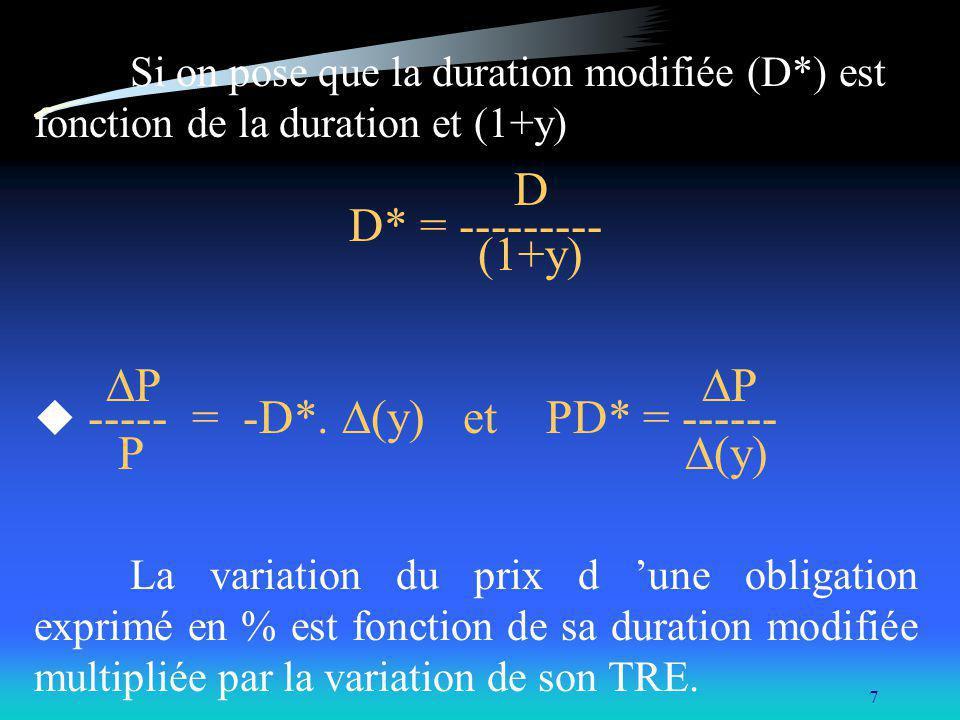D* = --------- (1+y) P P P (y)