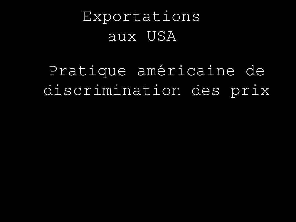 Pratique américaine de discrimination des prix