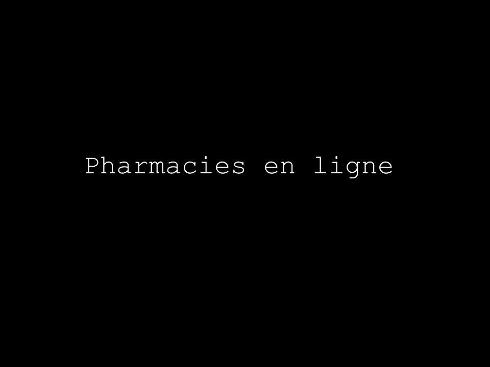 Pharmacies en ligne