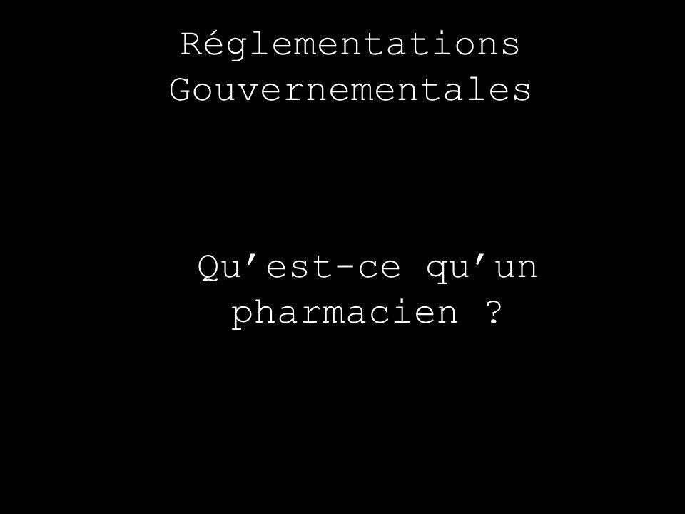 Qu'est-ce qu'un pharmacien