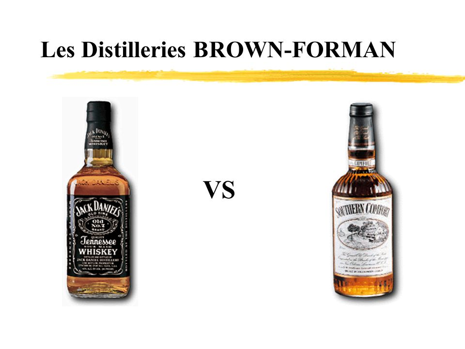 Les Distilleries BROWN-FORMAN
