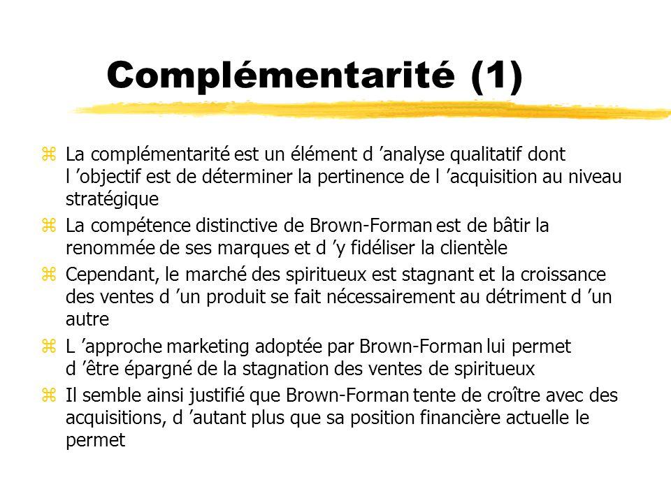 Complémentarité (1)