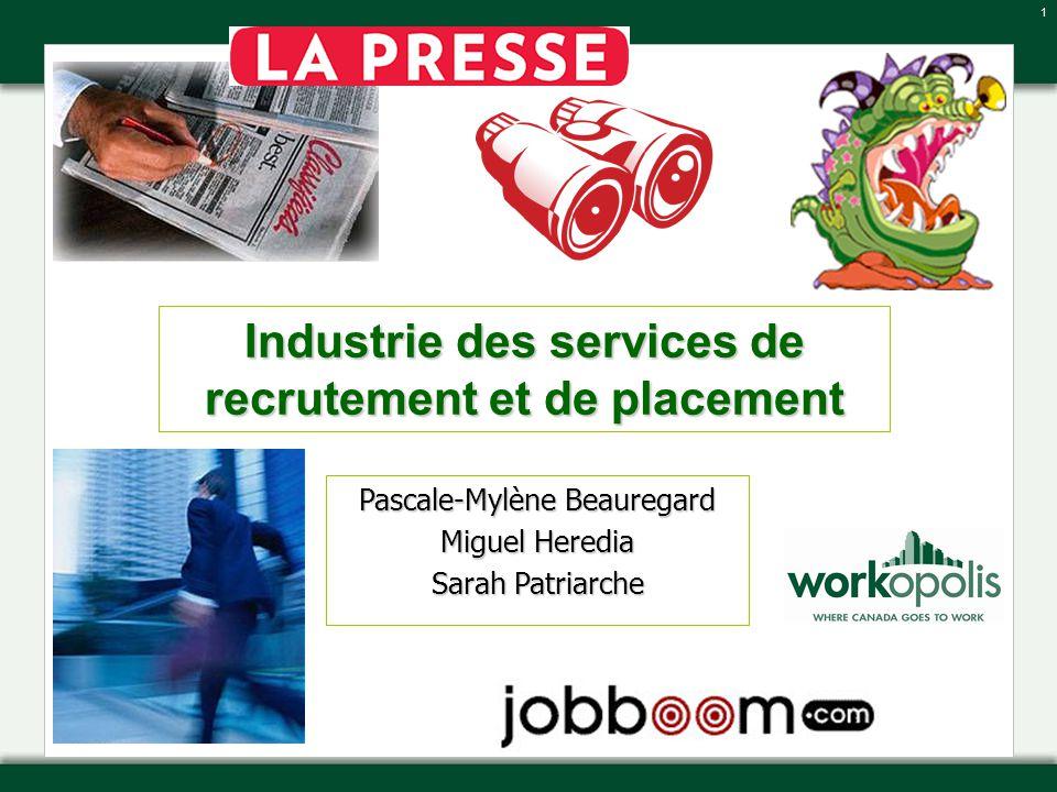 Industrie des services de recrutement et de placement