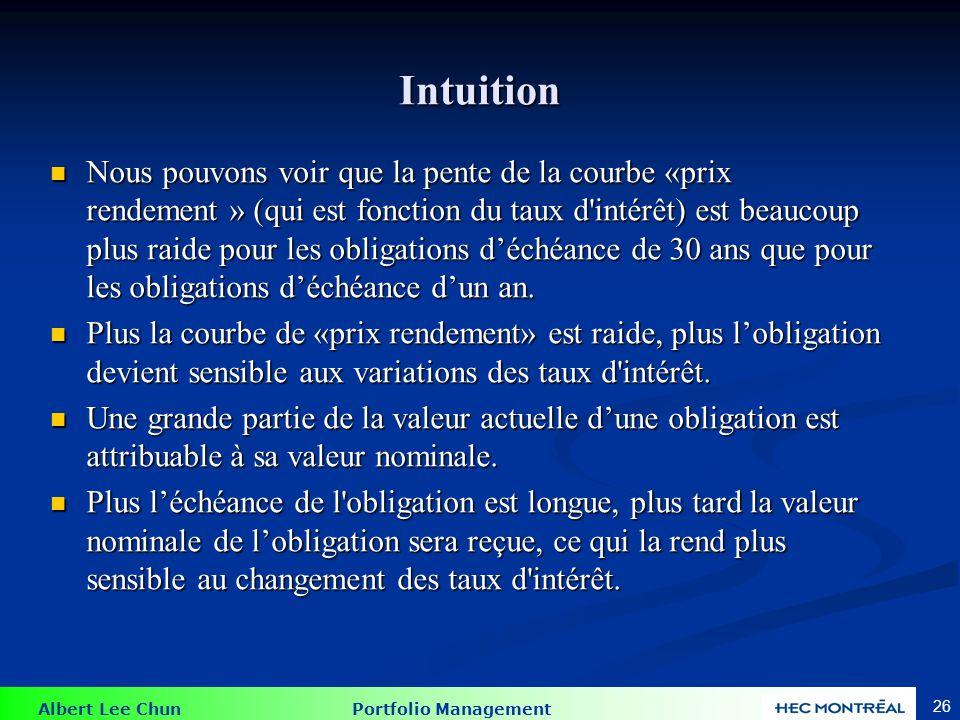 Intuition Pourquoi Car même une petite variation des taux d intérêt peut avoir un effet important s'ils sont composés sur une plus longue période.