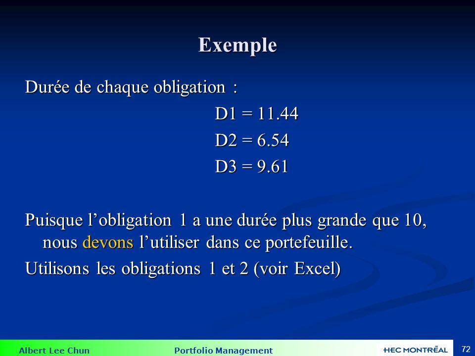 Exemple La valeur actualisée de l'obligation est : 414, 642.86$