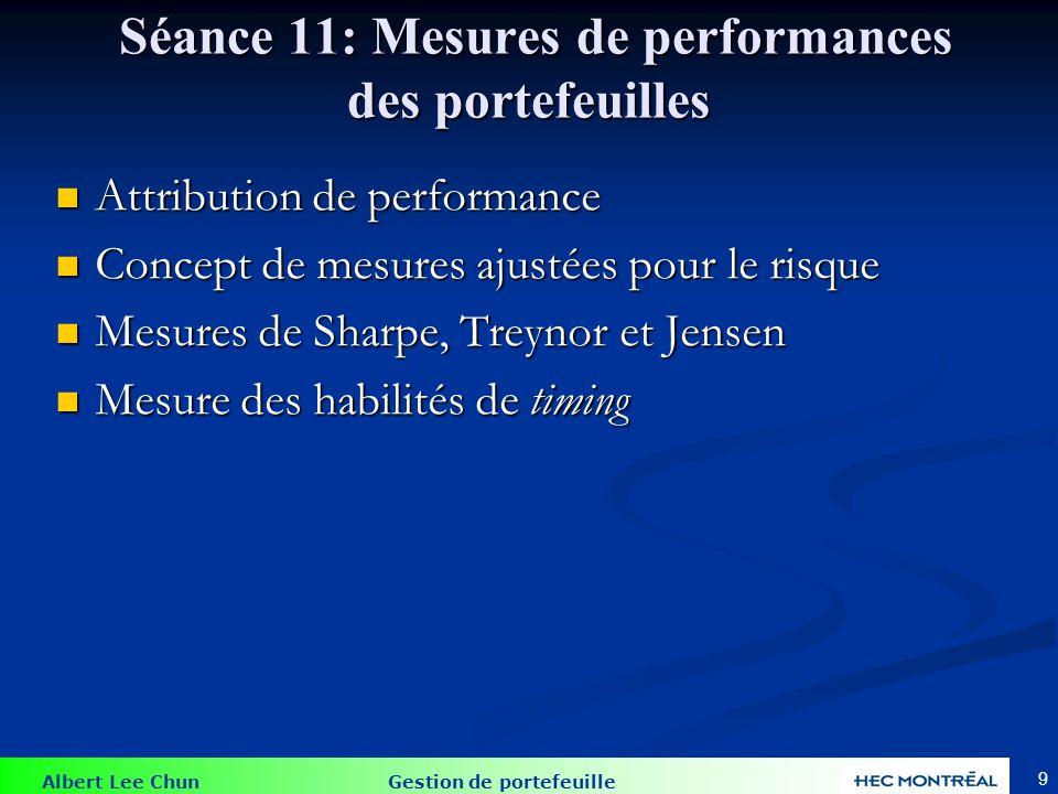 Évaluation Vous serez évalués en fonction des critères suivants: