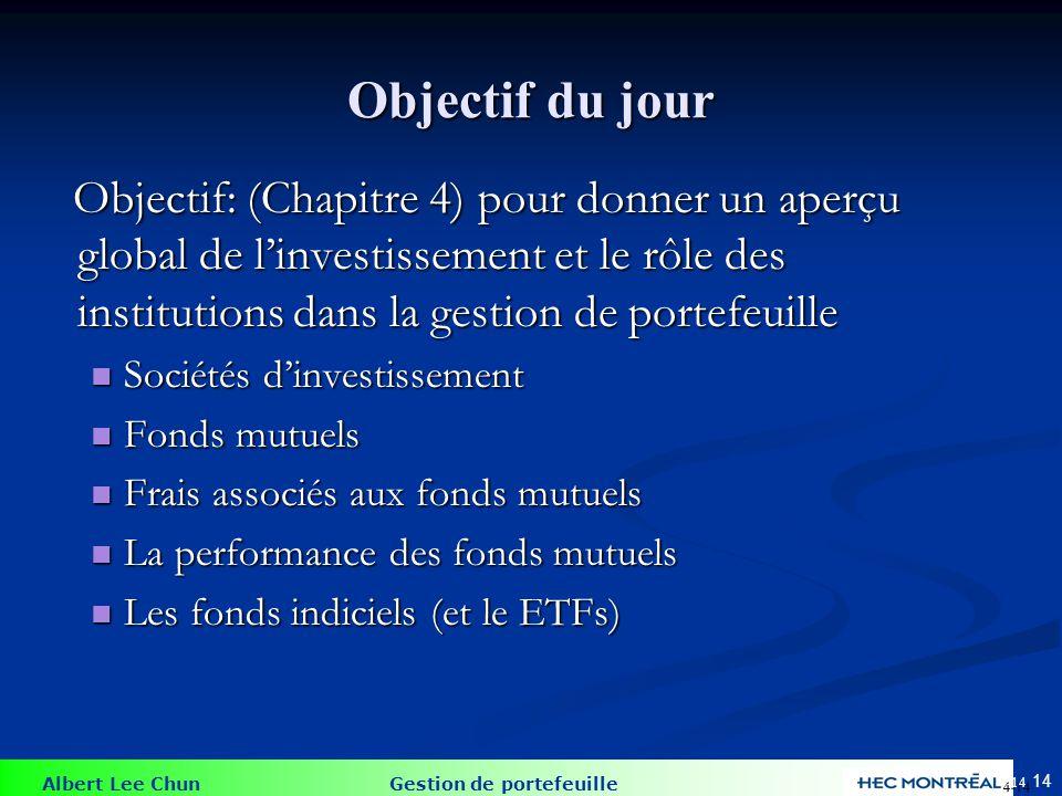 Sociétés d'investissement