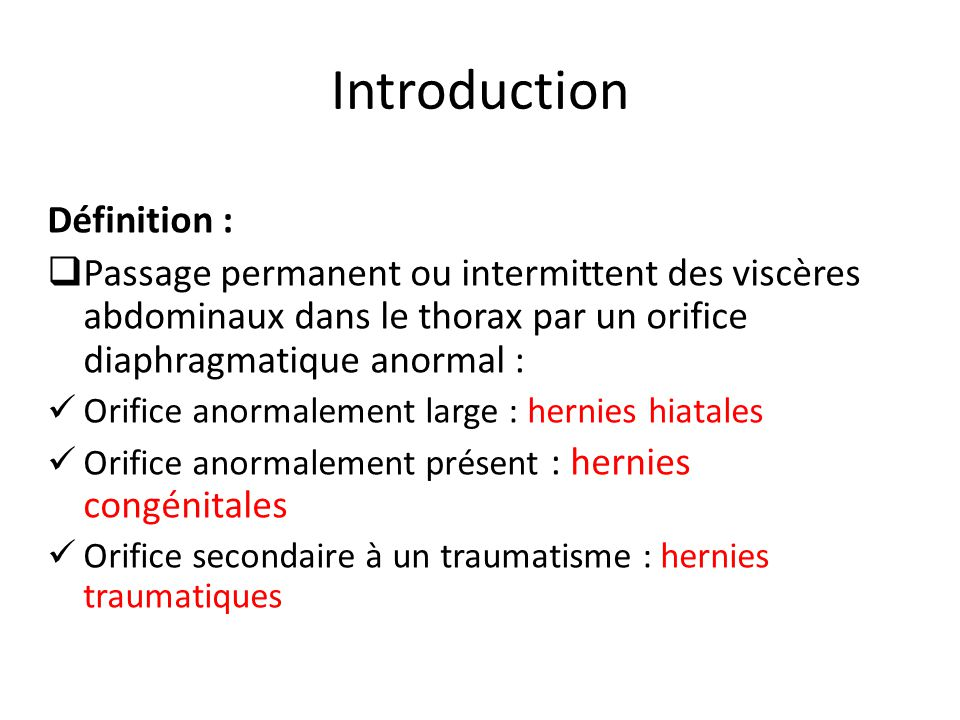 Introduction Définition :
