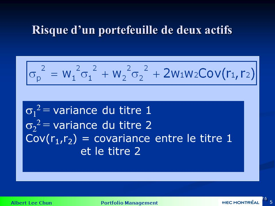 1,2 = Coefficient de corrélation