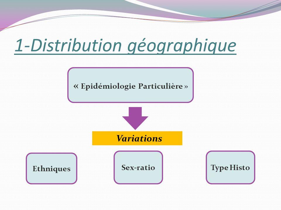 1-Distribution géographique